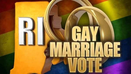 Rhode Island latest state legalize gay marriage