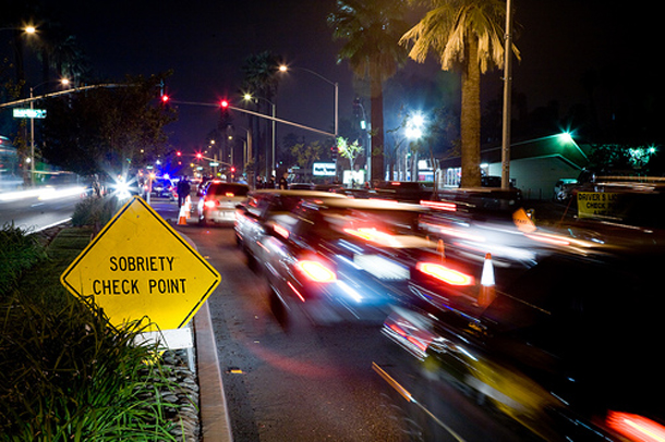 Los Angeles: DUI Checkpoints Saturday May 18