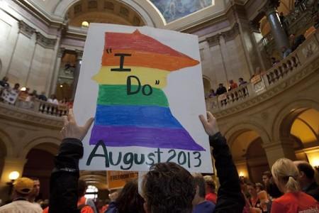same sex marriage ban minnesota in Wigan