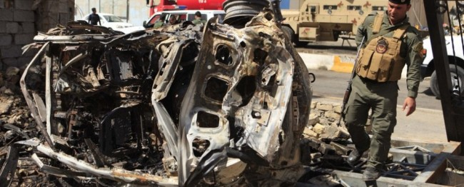 In Iraq, 6 car bombs kill 9 and wound 65