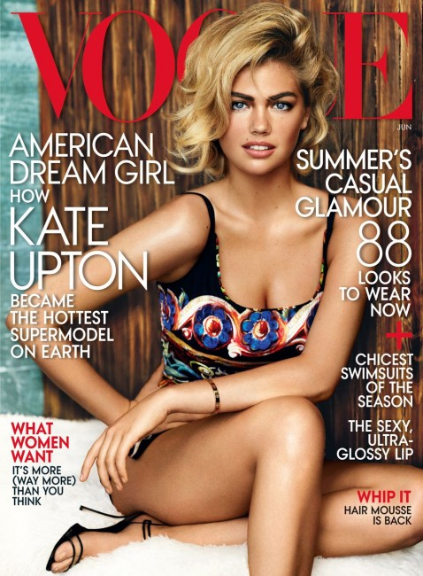 Kate Upton Lands Vogue Cover for June Issue