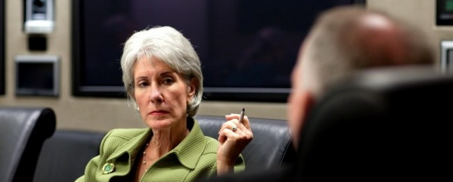 Kathleen Sebelius HHS Secretary Honors Nurses