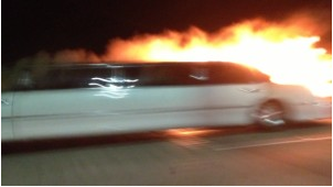 Limousine Fire on San Mateo-Hayward Bridge Leaves 5 Women Dead