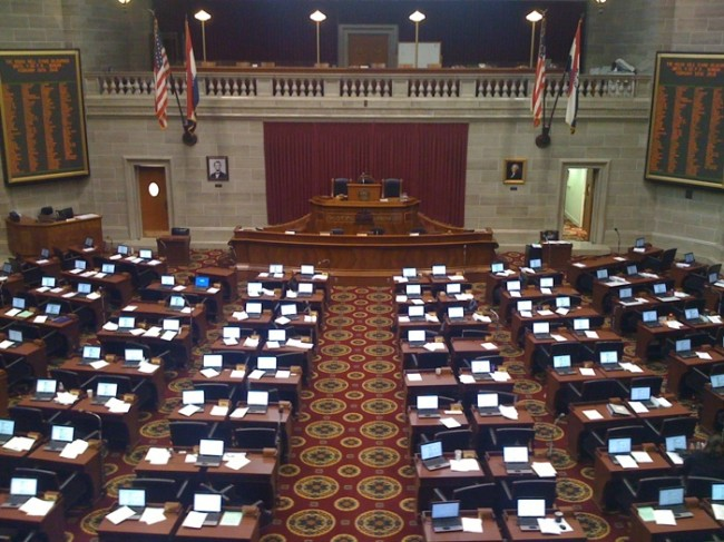 Missouri House of Representatives, State Capitol Building, Jefferson City