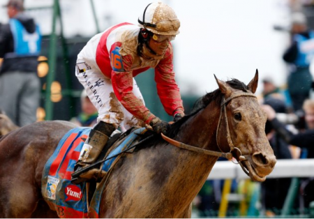 Orb Finishes First in the 139th Kentucky Derby