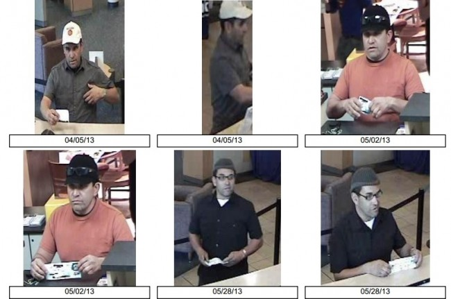 Las Vegas: Suspect wanted for bank robberies