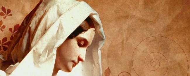 A Pious Virgin Mary
