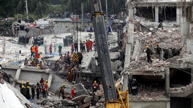 Bangladesh Factory Collapse to be compensated by some Companies