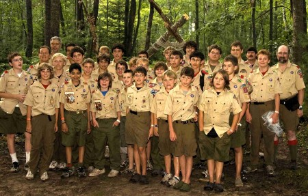 Boy Scouts leaders voted today to lift a 22 year old ban on gay membership.