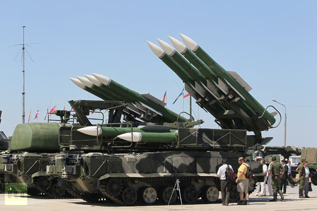 Syria receives Russian missiles