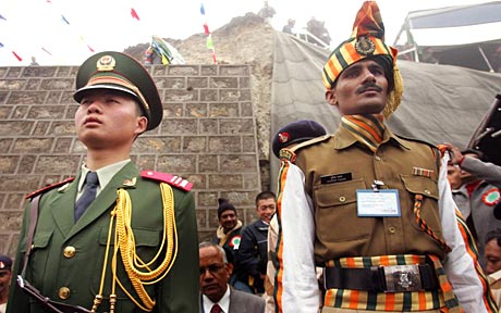 India and China unsolved border issues