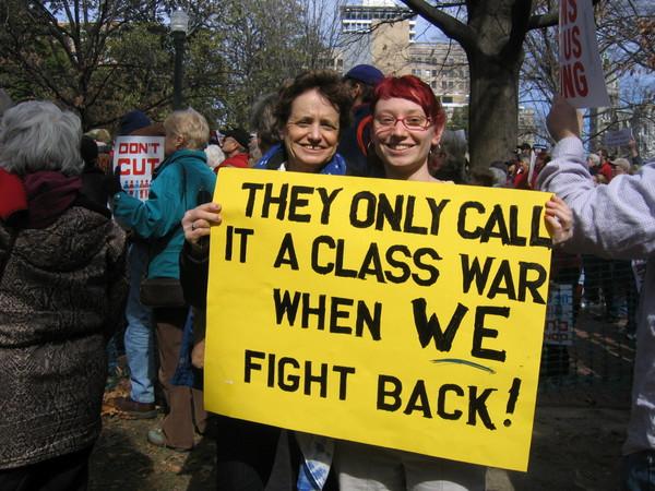 Class Warfare Intensifies