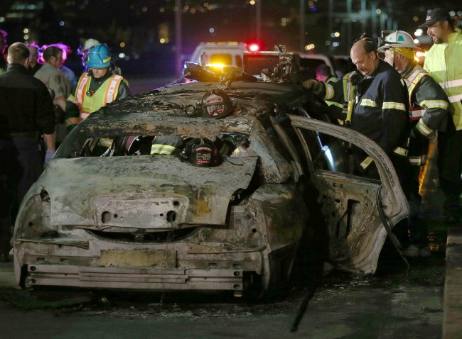 Bride Said to be One of the Dead in Limo Fire