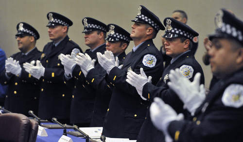 Chicago: Annual Award Ceremony in Honor Police Department's Heroes