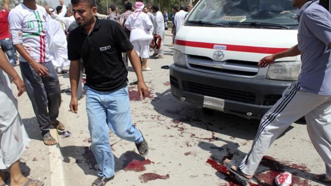 Deadly blast kills 47 outside of a Sunni mosque in Iraq