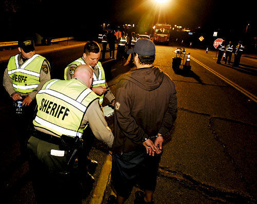 Los Angeles: DUI checkpoints and saturation patrols May 3-6