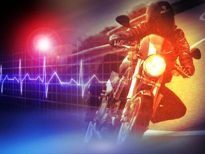Motorcycle vs Pedestrian Critical Injury Collision