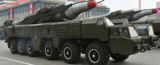 North Korea fires 3 missles