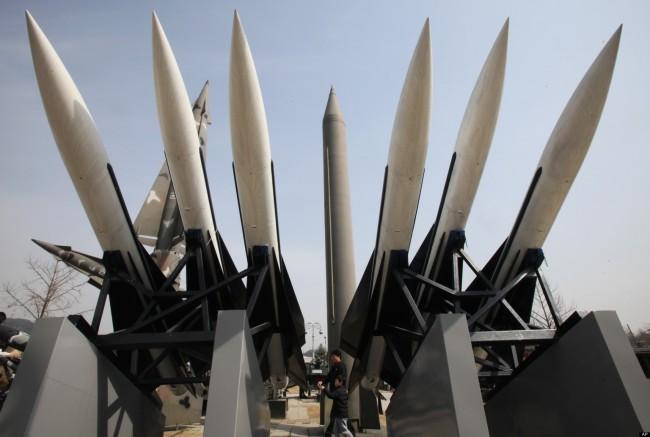South Korea North Korea Missile Test