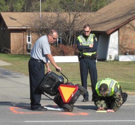 Las Vegas: Fatal Auto-Motorized Wheelchair on Flamingo Road