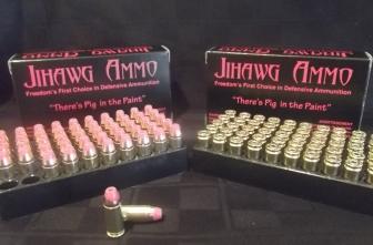 Pork-laced bullets