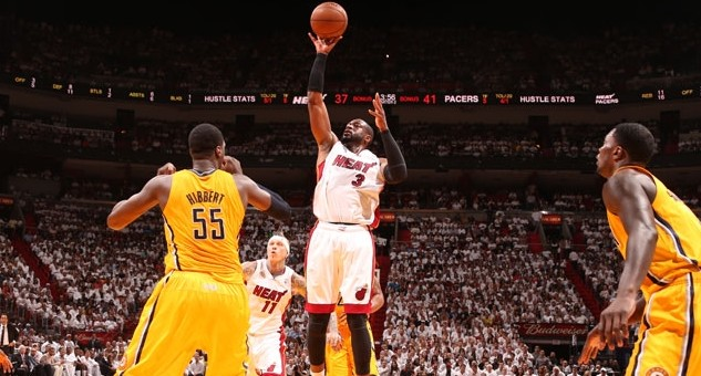 Miami Heat finished off Indiana Pacers i