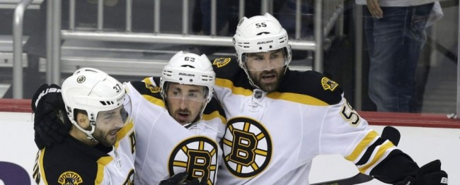 The Boston Bruins easily dispatched the Pittsburgh Penguins to go to the Stanley Cup Finas
