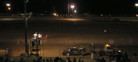 Small Town Saturday Night - and the Race is On!