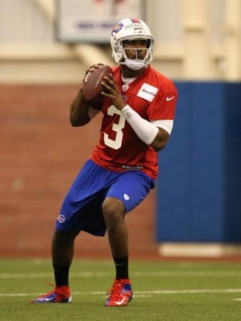 Bills quarterback E.J. Manuel will see an increased number of snaps this week at Bills mandatory mini-camp