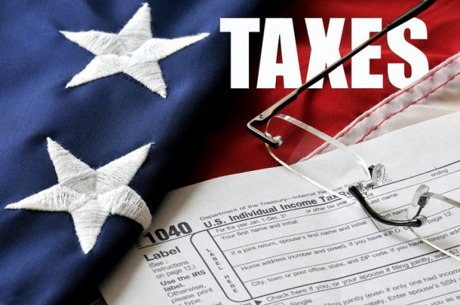 Income taxes is the bankruptcy of the United States
