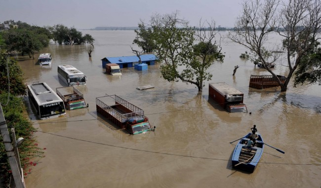 Flood In Yamuna River