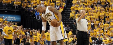 The Indiana Pacers beat the Heat in Game Six of the NBA Eastern Conference Finals to force a game seven