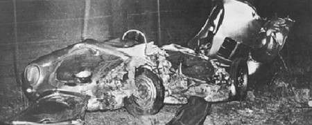 James Dean's car crash on September 30th, 1955 is the fate of Justine Bieber if he doesn't listen