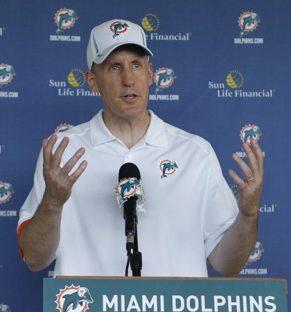 Miami Dolphins were one of several teams who held minicamp Tuesday
