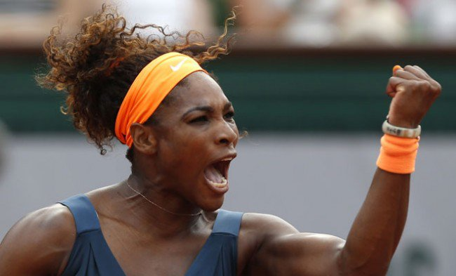 Serena Williams clinched French open