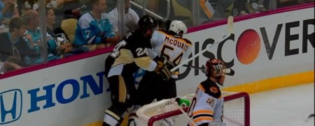 Matt Cooke was thrown out of game one of the Eastern Conference Finals for this hit