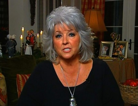 Paula Deen dropped by Food Network