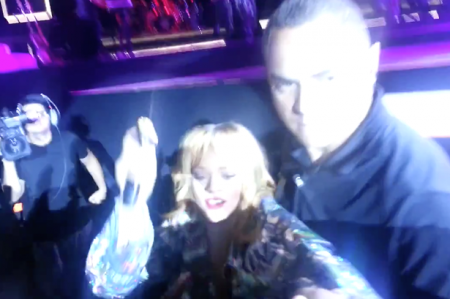 Rihanna hits fan with microphone after being grabbed during concert (video)