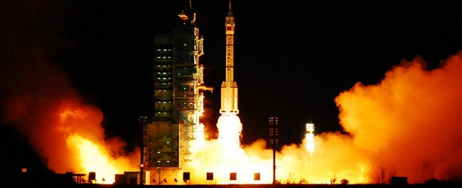 Chinese space launch