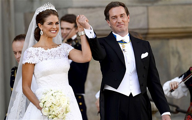 Swedish Princess Weds her Soulmate
