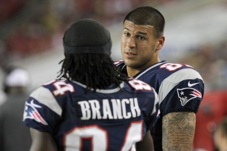 Deion Branch has joined Matt Light as the only former Patriots teammates of Aaron Hernandez to speak out on the former tight end.