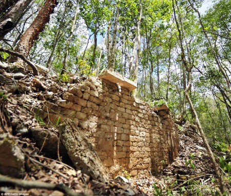 The lost Mayan city of Chactun has been found by archaeologists in the jungles of Mexico.