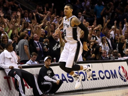 Danny Green led all scorers with 27 points in the Spurs' game 3 blow out of the Heat.