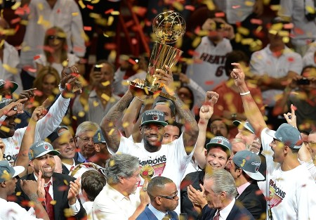 By repeating as champions, the Miami Heat highlighted the lack of parity in the NBA today.