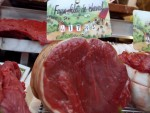 horse-meat at a butcher shop in France