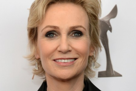 Jane Lynch says marriage is over.
