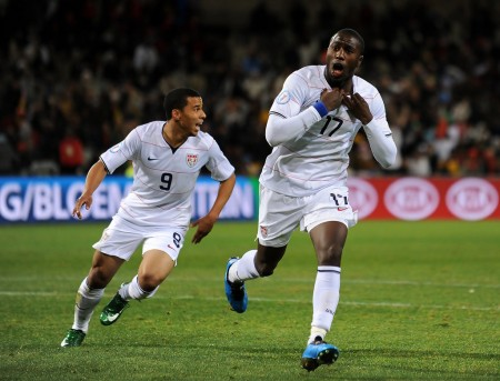 Jozy Altidore's goal set the tone for the US national team's 2-0 victory over Panama.