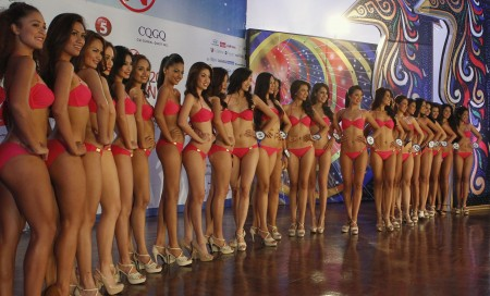 Miss World say no to bikinis yes to sarong