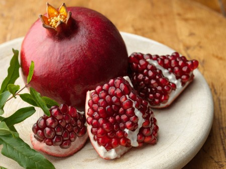 pomegranate for prosperity and fertility