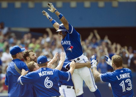 The Toronto Blue Jays have reason to celebrate, their winning streak is at 11 after beating the Orioles 13-5 today.